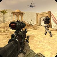 بازی اول شخص جنگ های مدرن با سلاح های AK47 و M4 آیکون
