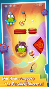 تصویر محیط Cut The Rope: Time Travel v1.13.3
