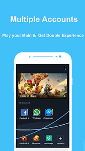 Double Account & Multiple Accounts – clone app v4.0.0