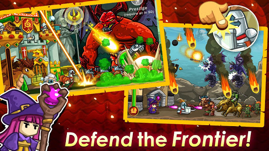 Frontier Defense: Idle TD & Heroes RPG game v1.80