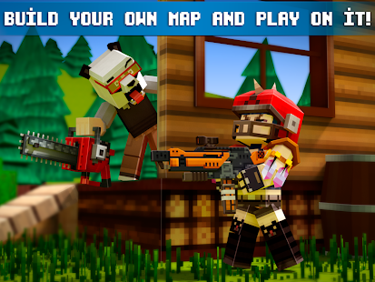 Mad GunZ FPS online shooter map craft v1.6.2