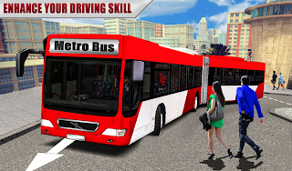 Metro Bus Games Real Metro Sim v1.5