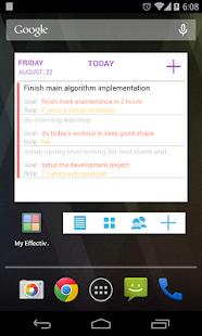 My Effectiveness: To do, Tasks v0.20.6