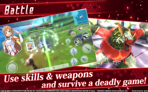 Sword Art Online Integral Factor v1.0.1