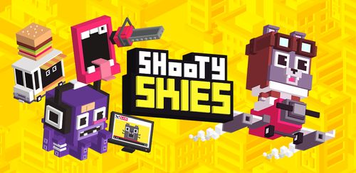 Shooty Skies – Arcade Flyer v3.001.9918