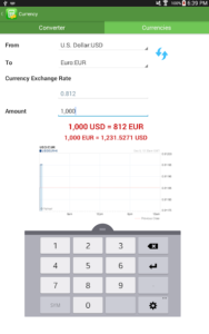 تصویر محیط Financial Calculators Pro v3.1.3