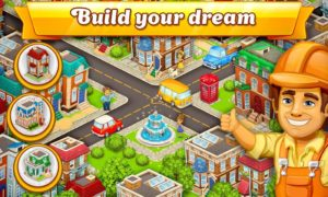 تصویر محیط Cartoon City: farm to village. Build your home v1.77