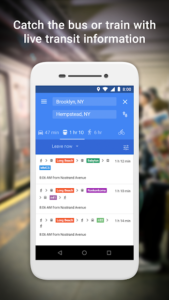 تصویر محیط Google Maps Go – Directions, Traffic & Transit v98
