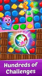 تصویر محیط Gummy Paradise – Free Match 3 Puzzle Game v1.4.9