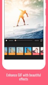 تصویر محیط GIF Maker – Video to GIF, GIF Editor v1.2.8