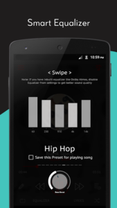 تصویر محیط Crimson Music Player – MP3, Lyrics, Playlist v3.9.7
