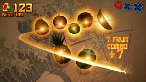 تصویر محیط Fruit Ninja® v2.8.4