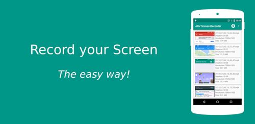 ADV Screen Recorder v4.1.1