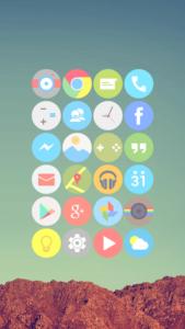 تصویر محیط Cryten – Icon Pack v20.0.0