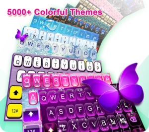 تصویر محیط TouchPal Keyboard-Cute Emoji,theme, sticker, GIFs v7.0.9.1