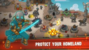 تصویر محیط Steampunk Defense: Tower Defense v20.32.569