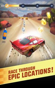 تصویر محیط Cars: Lightning League v1.6