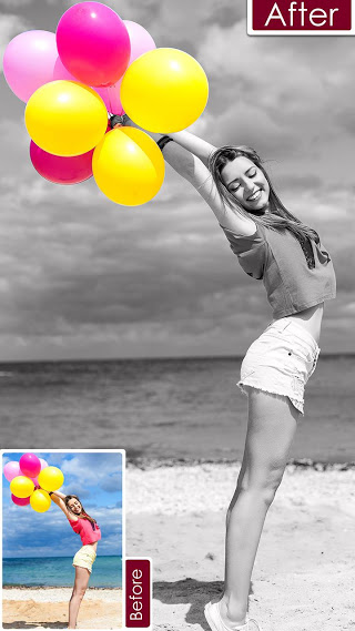 Color Pop Effects : Black & White Photo v1.8