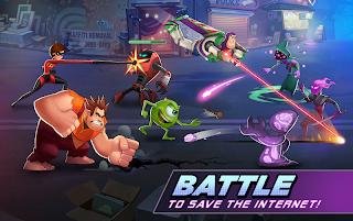 بازی قهرمان های دیزنی Disney Heroes: Battle Mode v1.4