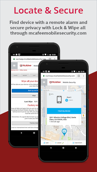 McAfee Mobile Security & Lock v4.9.5.2184