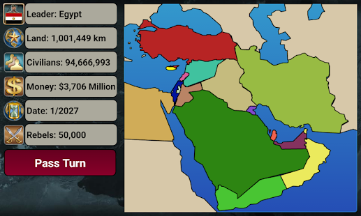 Middle East Empire 2027 v2.7.3