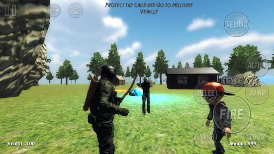 Operation Z For Zombies First Third Person shootin v1.0