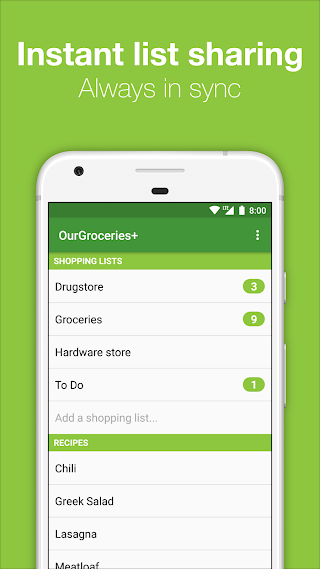 Our Groceries Shopping List Premium v2.12.7