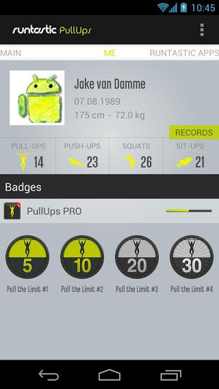 Runtastic Pull-ups Workout PRO v1.12