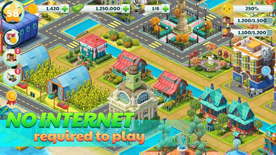 Town City – Village Building Sim Paradise Game 4 U v1.7.0