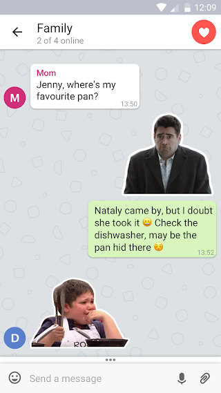 TamTam Messenger – free chats & video calls v2.1.0