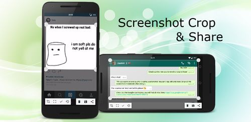 Screenshot Crop & Share v2.11
