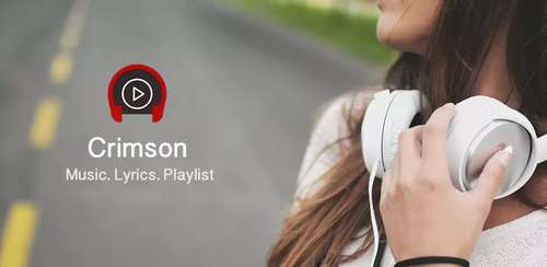 Crimson Music Player – MP3, Lyrics, Playlist v3.9.8