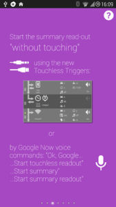 تصویر محیط Touchless Notifications Pro v3.41