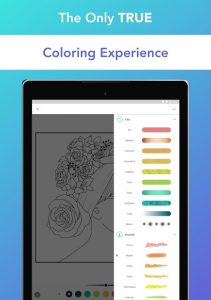تصویر محیط Pigment – Adult Coloring Book v1.5.10