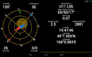 تصویر محیط GPS Status & Toolbox v9.2.194