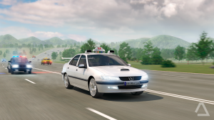 تصویر محیط Driving Zone 2 v0.7 + data