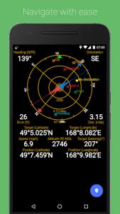 تصویر محیط GPS Status & Toolbox v11.0.307