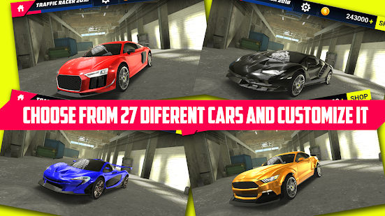 Traffic Racer 2018 – Free Car Racing Games v1.0.19
