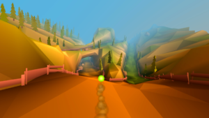 تصویر محیط Slope Down: First Trip v2.29.30