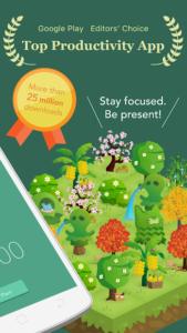 تصویر محیط Forest: Stay focused v4.7.1