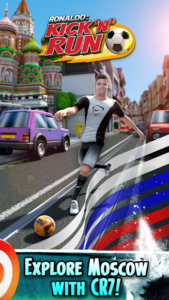 تصویر محیط Cristiano Ronaldo: Kick'n'Run – Football Runner v1.0.35