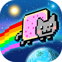 بازی گربه گمشده در فضا به سبک سکو بازی آیکون