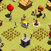 بازی ساخت دهکده و دفاع از آن آیکون