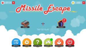 تصویر محیط Missile Escape v1.5.3