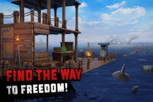تصویر محیط Survival on Raft: Ocean Nomad – Simulator v1.62