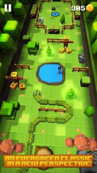 Blocky Snakes – Classic Snake Runner v1.4