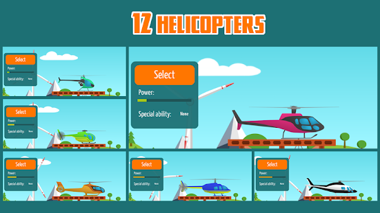 Go Helicopter (Helicopters) v2.73