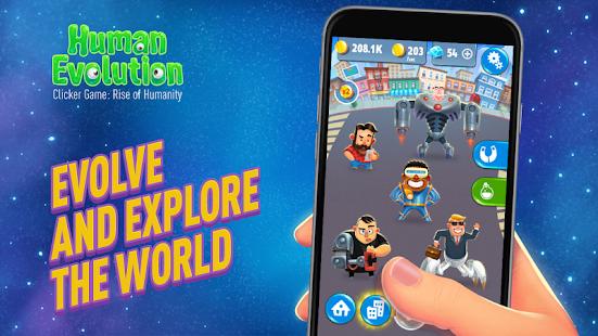 Human Evolution Clicker Game: Rise of Mankind v1.3.8