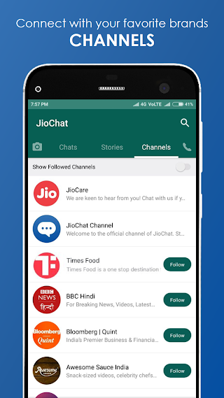 JioChat: HD Video Call v3.2.4.2