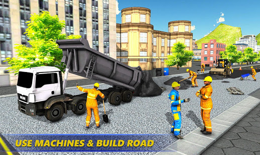 Mega City Road Construction Real Builder Simulator v1.3